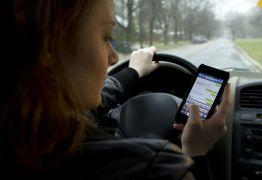 Multas por usar celular ao volante crescem quase 50% em Campina Grande