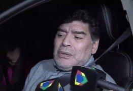 Maradona é flagrado dirigindo com sintomas de embriaguez na Argentina – VEJA VÍDEO