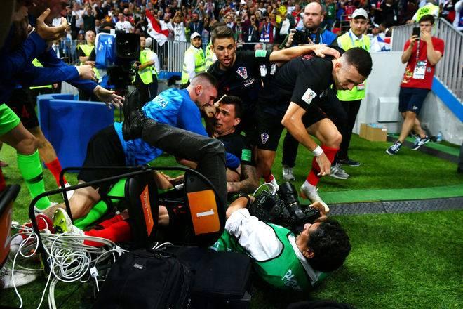 yuri cortez 11072018185123662 - Fotógrafo derrubado por croatas diz que irá torcer por eles na final da Copa