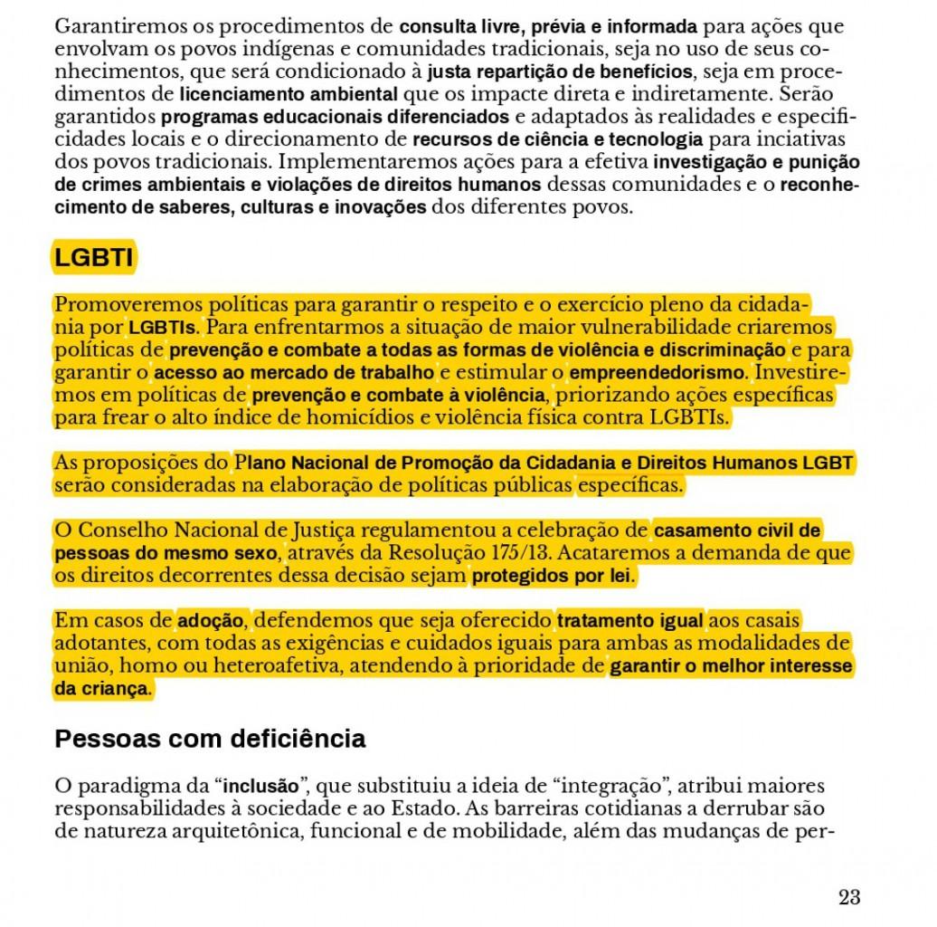 1534338530 266715 1534344999 sumario normal recorte1 - Programa de Marina avança em direitos LGBT, mas ativistas cobram propostas concretas
