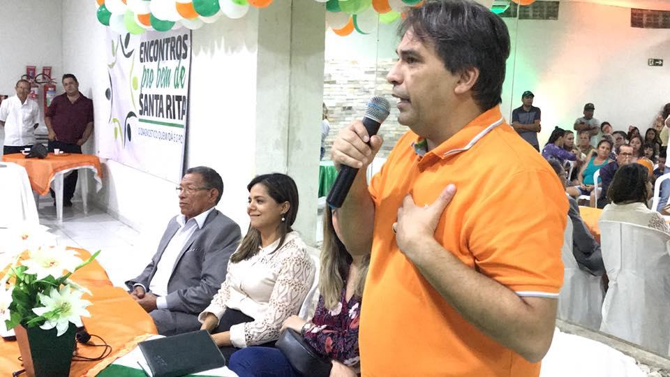 38156626 2065449947041799 7545616223145295872 n - Deputado Genival Matias é recebido por moradores durante o evento 'Encontros pro Bem de Santa Rita'