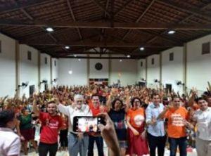 88 1 300x222 - Prefeita Márcia Lucena recebe lideranças do PSB no Conde e comemora participação popular