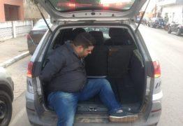 Homem suspeito de estelionato é preso após atropelar três pessoas em Solânea, PB