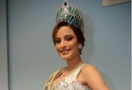 Nordestina que venceu Miss Brasil Mundo 2018 diz que já passou fome e teve preparação forte