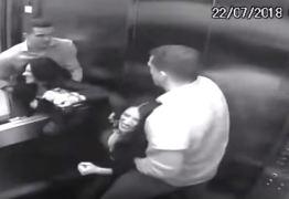 """Agressões de marido a advogada que """"caiu"""" do 4º andar de prédio são flagradas por câmeras – VEJA VÍDEO!"""