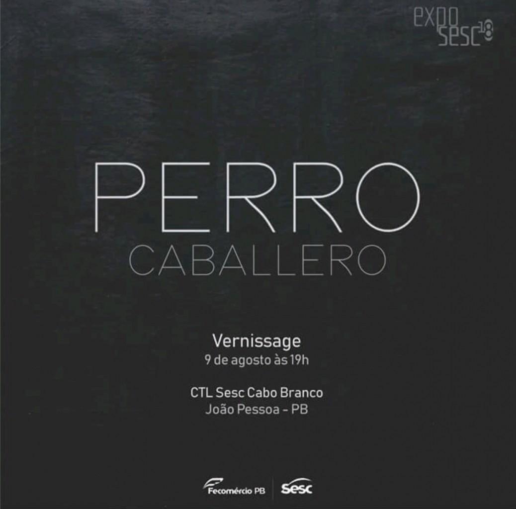 Convite - Sesc Cabo Branco recebe exposição de Aurora Caballero