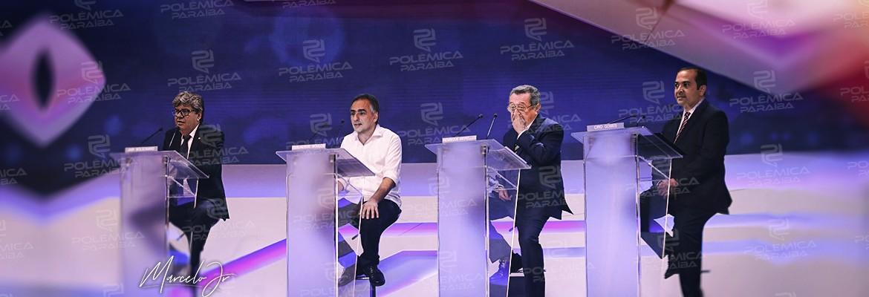 DEBATE ARAPUAN - HOJE: TV Sol realiza debate com candidatos ao Governo e Polêmica Paraíba traz os detalhes minuto a minuto