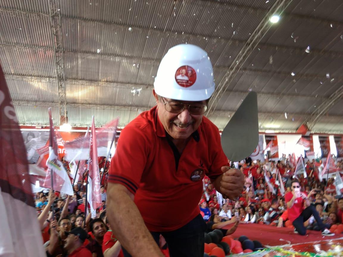José Maranhã mestre de obras convenção mdb - VEJA VÍDEO: MDB confirma os nomes de Maranhão e Roberto Paulino na Majoritária
