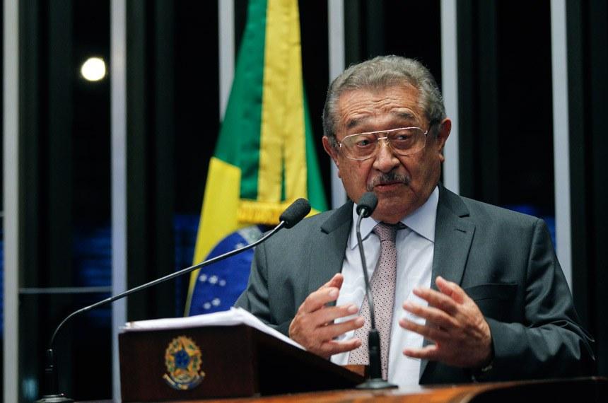 José Maranhão 1 - Senado Federal decreta luto oficial por morte do senador José Maranhão