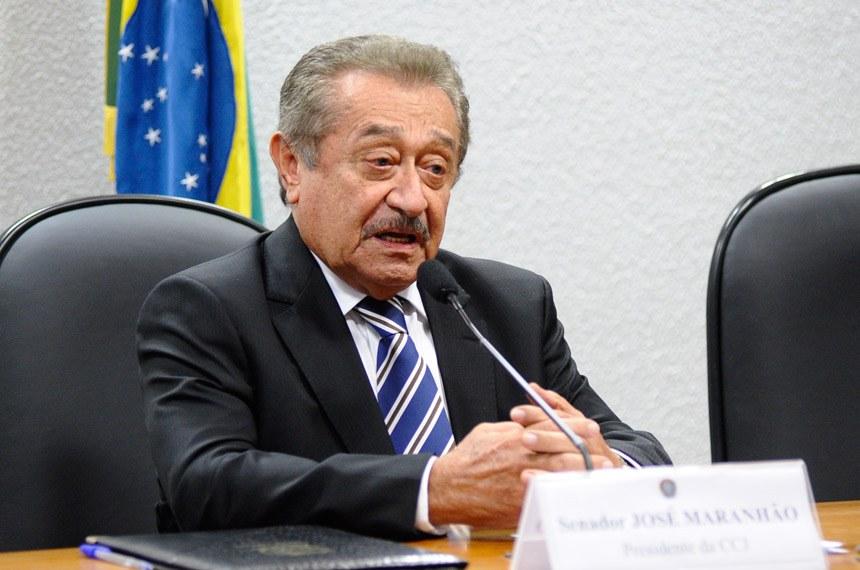 José Maranhão - Maranhão cancela agenda desta sexta-feira e publica nota de pesar pelo falecimento do Jornalista Nelson Coelho