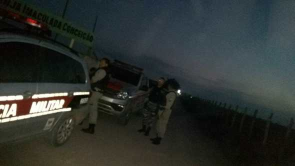 Prisão em Mari - Polícia Militar prende suspeito de assaltos aos Correios e comércios de Mari