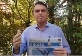 Bolsonaro se irrita com FHC e diz que PT e PSDB querem indulto para Lula – VEJA VÍDEO