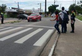 Semob-JP promove ações educativas do Dia Mundial do Pedestre