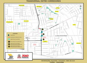 TRANSVERSAL ENTRE CORREDORES 300x218 - PMJP apresenta projeto de transversal entre corredores, que vai interligar Beira Rio e BR 230