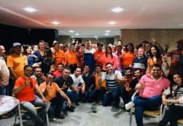 Aguinaldo Ribeiro recebe apoio do prefeito de Cacimba de Dentro