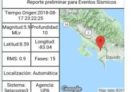 Terremoto atinge a Costa Rica e é sentido também no Panamá