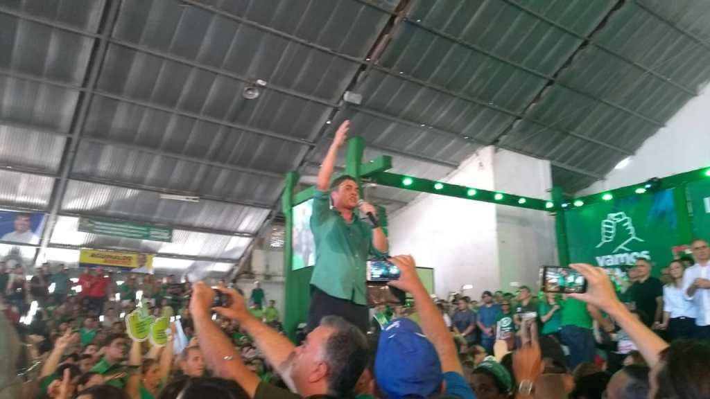 WhatsApp Image 2018 08 05 at 13.13.15 1024x576 - VEJA VÍDEOS: Convenção do PV oficializa chapa de Lucélio e Micheline, Cássio e Daniella
