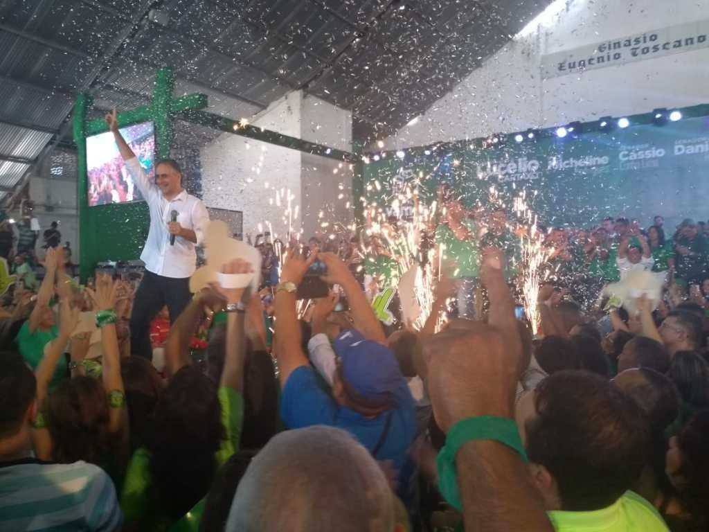 WhatsApp Image 2018 08 05 at 13.34.34 1024x768 - VEJA VÍDEOS: Convenção do PV oficializa chapa de Lucélio e Micheline, Cássio e Daniella