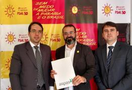 Tárcio Teixeira recebe representantes da ASPAS na sede do PSOL