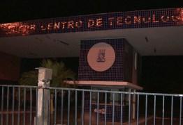 UFPB fica sem aulas após pane na rede elétrica do campus I, em João Pessoa