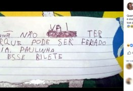Menino de 5 anos manda bilhete em nome da professora para não ir à escola: 'Pode ser feriado'