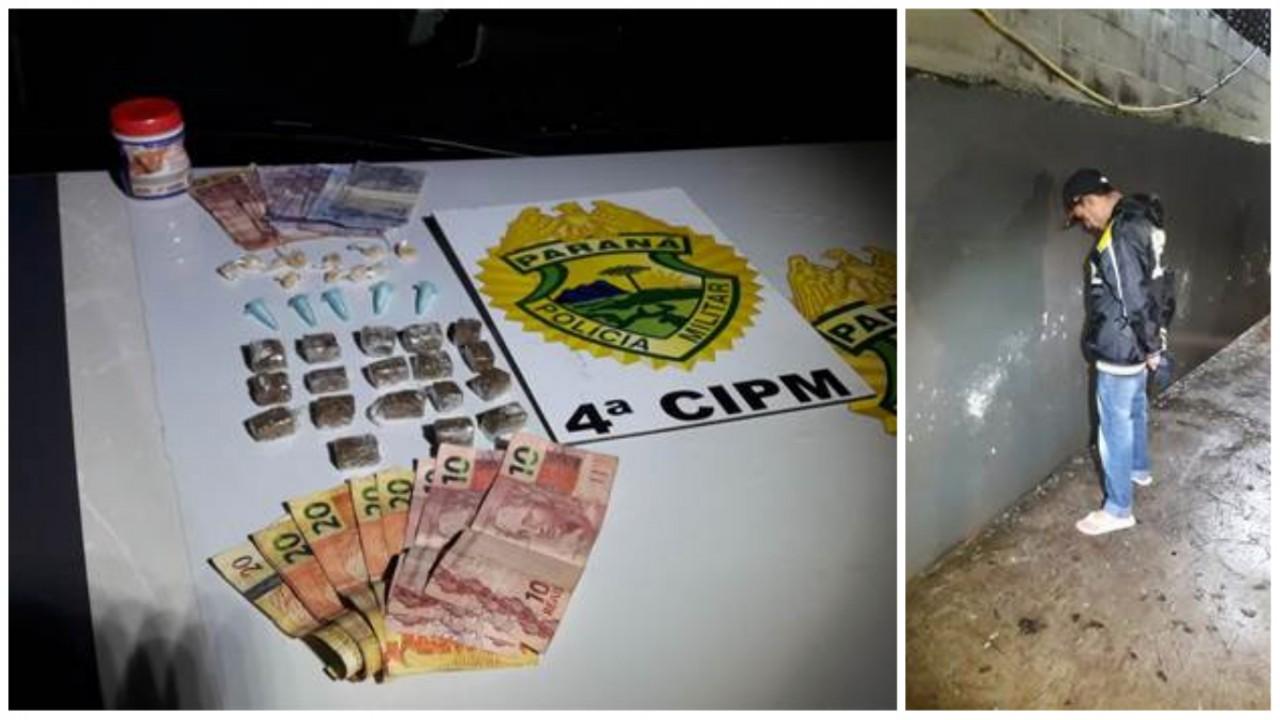 distraido - Traficante não reconhece viatura e oferece drogas à Polícia Militar