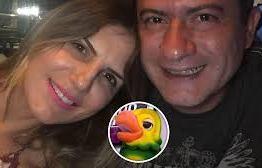 Ex-esposa de Tom Veiga, o Louro José, diz que ainda há amor e ele nunca a agrediu
