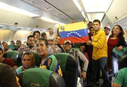 Imigrantes venezuelanos serão enviados para a Paraíba nesta terça-feira