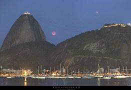 Fotógrafo brasileiro é destaque na NASA: foto da Lua de Sangue
