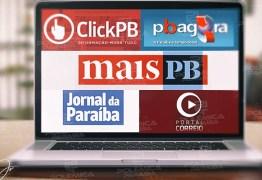 REIS DO INSTAGRAM: Os sites mais acessados de João Pessoa tem ranking 'invertido' em número de seguidores