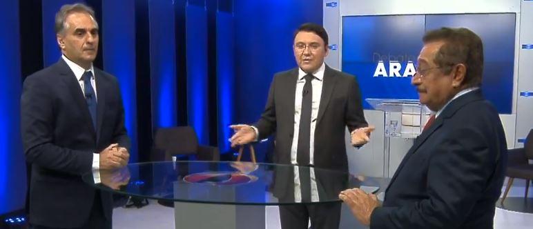 quarto bloco 1 - DEBATE NA ARAPUAN: em discussão livre, Maranhão diz que Lucélio tem propostas 'antiquíssimas' para a Granja Santana