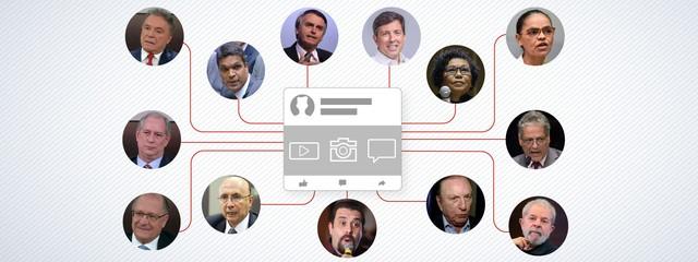 selo candidatos nas redes materia 2 - CADÊ AS PROPOSTAS DETALHADAS? Presidenciáveis usam emojis e memes nas redes sociais