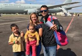 EM JOÃO PESSOA: 'Abrem-se portas para uma nova vida', diz família venezuelana