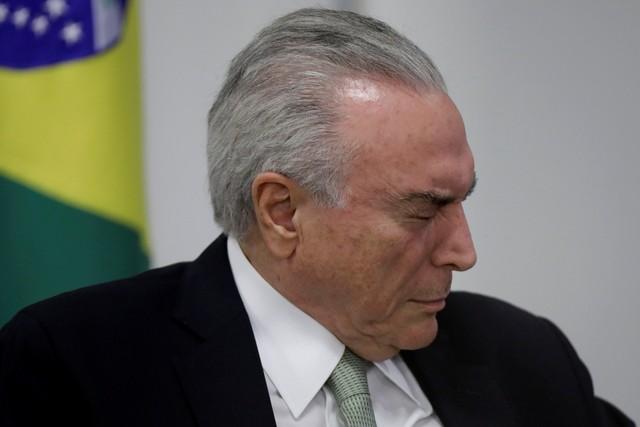 2018 03 12t222629z 452557592 rc14736bac10 rtrmadp 3 brazil politics b - PF vê indícios de repasse ilegal de R$ 1,4 milhão a Temer pela Odebrecht