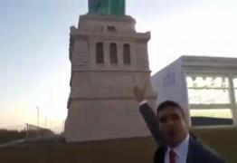 VEJA VÍDEO: Cabo Daciolo promete derrubara estátuas de loja de departamento