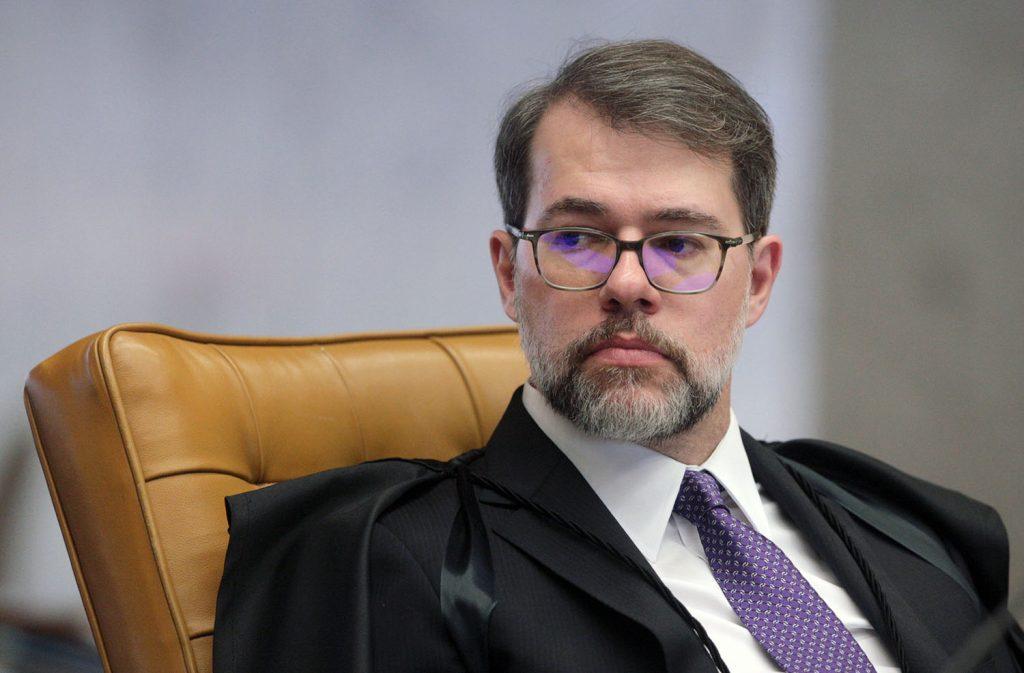 562549483 ministro dias toffoli durante sessao do stf 1024x673 1 - Toffoli afirma que Bolsonaro é 'alegre e bem-humorado'