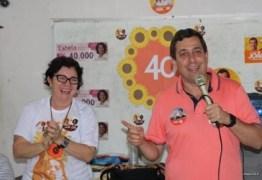 NINJA NA REDE – Ao lado de Márcia Lucena, Gervásio Maia participa do 'Socializa Conde'