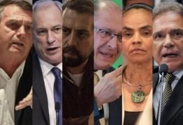 Dos 13 presidenciáveis, 6 pediram na Justiça retirada de conteúdo da internet