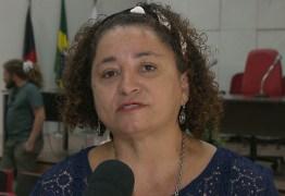 Rama Dantas concede entrevista para rádios de João Pessoa