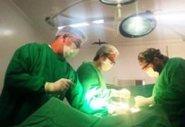 Médicos realizam a primeira cirurgia de câncer em hospital público no Sertão paraibano