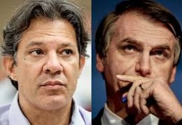 PESQUISA IBOPE: Bolsonaro estaciona em 28% e Haddad encosta com 22% – VEJA COMO FICA O SEGUNDO TURNO