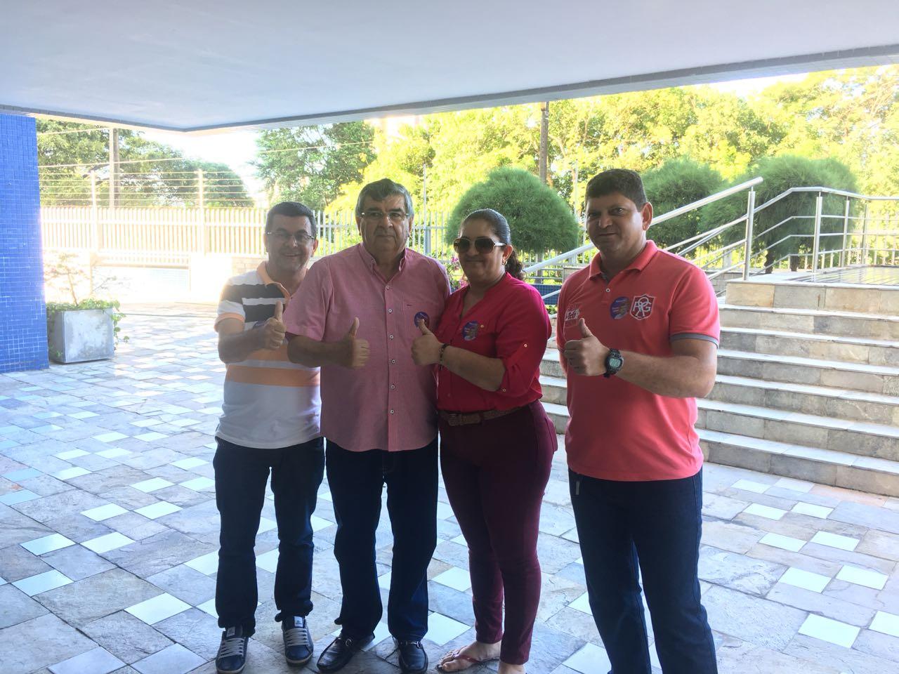 IMG 20180913 WA0066 - VOLTOU A CAMPANHA: Roberto Paulino recebe apoio da Associação de Cabos e Soldados da Paraíba - VEJA VIDEO