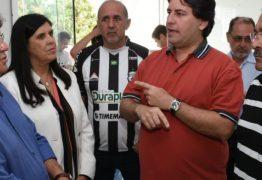 João recebe apoio de dirigentes do Treze e garante manutenção do programa Gol de Placa