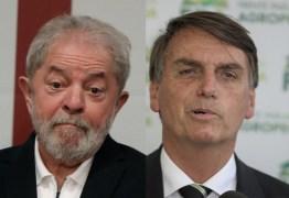 Lula cai e empata com Bolsonaro em 21% no voto espontâneo, diz BTG Pactual