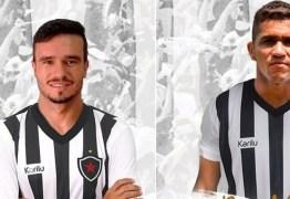 Botafogo-PB anuncia dois reforços para a temporada 2019