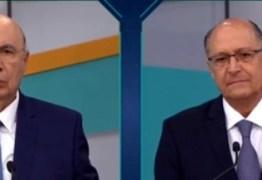 Em debate sem Bolsonaro, Meirelles parte para o ataque contra Alckmin