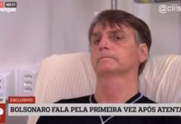 No hospital, Bolsonaro concede entrevista à Jovem Pan – VEJA VÍDEO!