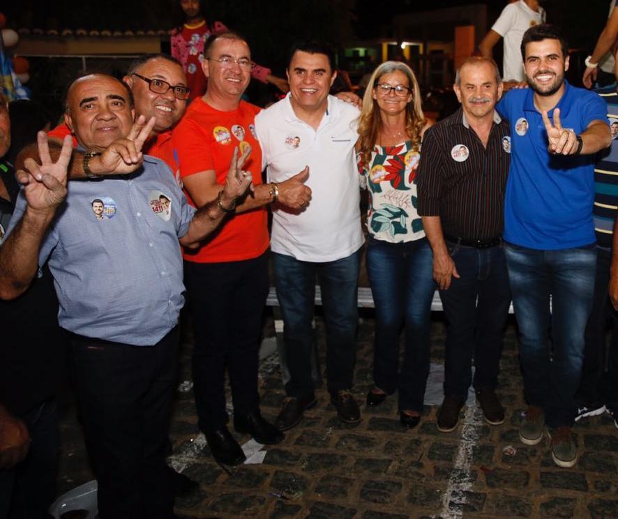 WhatsApp Image 2018 09 11 at 12.05.03 - Mais quatro prefeitos reafirmam apoio a Wilson Filho