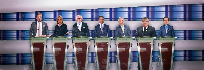 ACOMPANHE AO VIVO: TV Master realiza debate com candidatos paraibanos ao Senado Federal