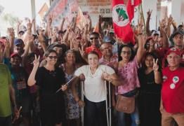 MST realiza carreata histórica para Cida Ramos, no interior do Estado